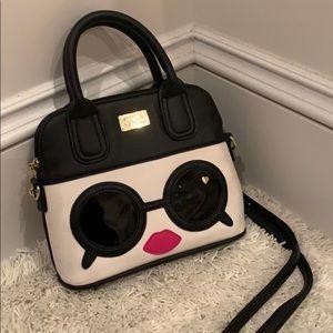 Betsy Johnson sunglasses satchel shoulder bag